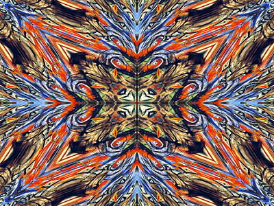 Fabric Of Balance Art Print by Darryl  Kravitz