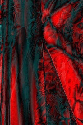 Digital Art - Fabric Study 01 Satin by Paula Ayers