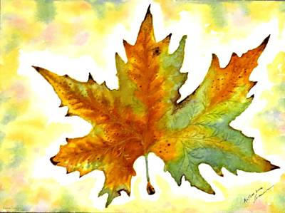 Painting - Fabulous Autumn by Leanne Seymour