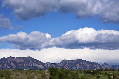 Photograph - Fabulous Flatirons by Marilyn Hunt
