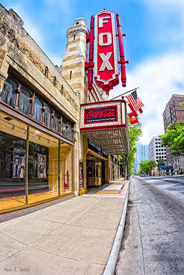 Photograph - Fabulous Fox Theatre On Peachtree by Mark E Tisdale