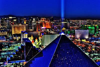 Photograph - Fabulous Las Vegas by Benjamin Yeager