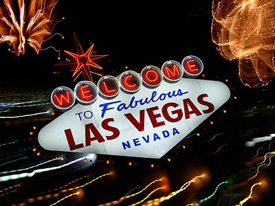Photograph - Fabulous Vegas by Guillermo Rodriguez