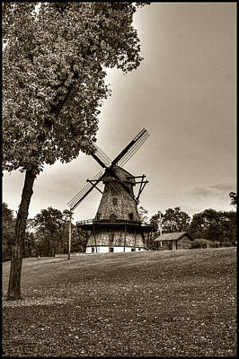 Photograph - Fabyan Windmill Batavia Illinois by Roger Passman