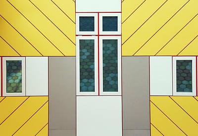 Shape Photograph - Facade by Heidi Bartsch