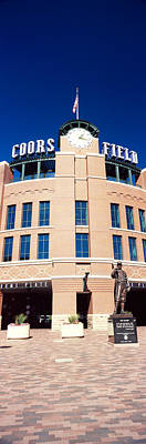 Coors Photograph - Facade Of A Baseball Stadium, Coors by Panoramic Images