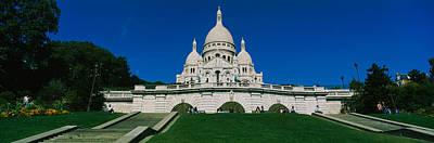 Sacre Coeur Photograph - Facade Of A Basilica, Basilique Du by Panoramic Images