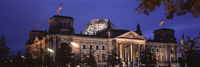 Berlin Photograph - Facade Of A Building At Dusk, The by Panoramic Images