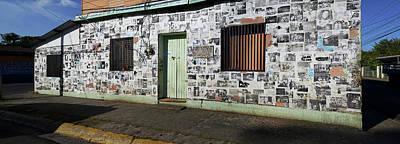 Facade Of A Building, Canton Art Print