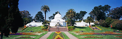 Conservatory Of Flowers Photograph - Facade Of A Building, Conservatory by Panoramic Images