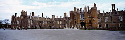 Facade Of A Building, Hampton Court Art Print