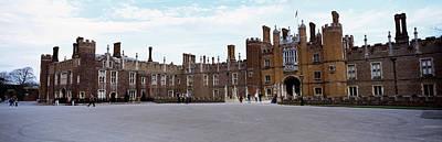 Hamptons Photograph - Facade Of A Building, Hampton Court by Panoramic Images
