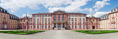 Castle Photograph - Facade Of A Castle, Castle Bruchsal by Panoramic Images