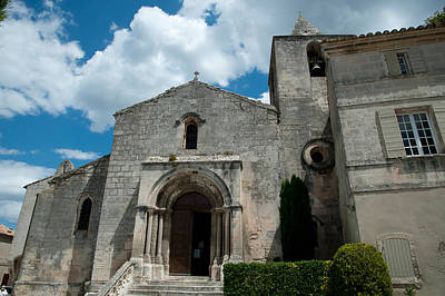 Provence Photograph - Facade Of A Church, Eglise by Panoramic Images