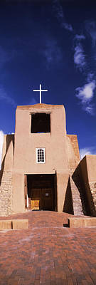 Pueblo Architecture Photograph - Facade Of A Church, San Miguel Mission by Panoramic Images