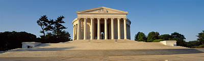 Jefferson Memorial Photograph - Facade Of A Memorial, Jefferson by Panoramic Images
