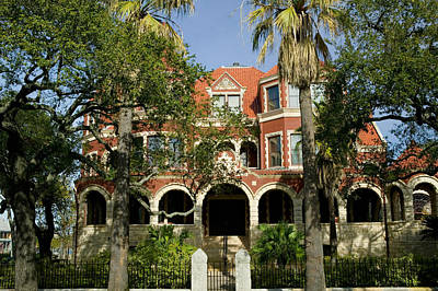 Galveston Photograph - Facade Of A Museum, Moody Mansion by Panoramic Images