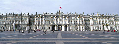 Facade Of A Museum, State Hermitage Art Print by Panoramic Images