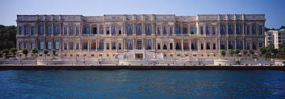 Facade Of A Palace At The Waterfront Art Print