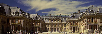 Chateau Photograph - Facade Of A Palace, Chateau De by Panoramic Images