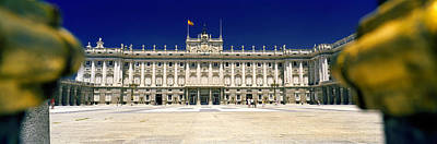 Focus On Background Photograph - Facade Of A Palace, Madrid Royal by Panoramic Images