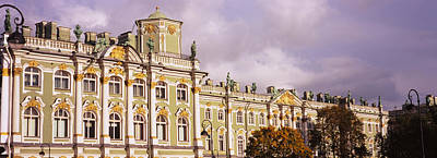 Facade Of A Palace, Winter Palace Art Print by Panoramic Images