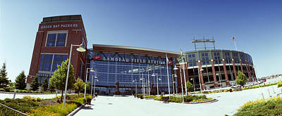 Lambeau Field Photograph - Facade Of A Stadium, Lambeau Field by Panoramic Images
