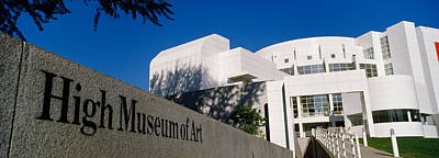 Facade Of An Art Museum, High Museum Art Print by Panoramic Images