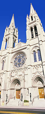 Immaculate Photograph - Facade Of Cathedral Basilica by Panoramic Images