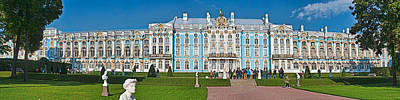 Featured Images Photograph - Facade Of Catherine Palace, Tsarskoye by Panoramic Images