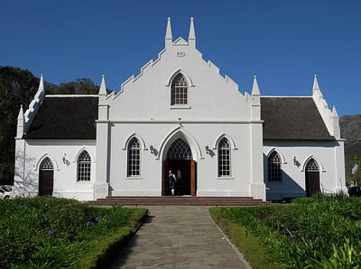 Reform Photograph - Facade Of Dutch Reformed Church by Panoramic Images