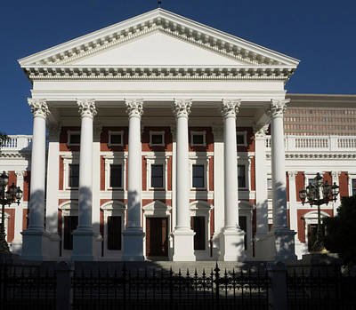 Facade Of House Of Assembly Art Print