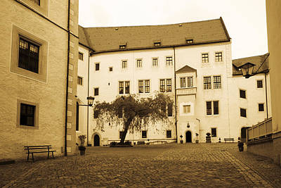 Facade Of The Castle Site Of Famous Ww2 Art Print
