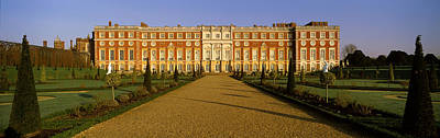 Surrey Photograph - Facade Of The Palace, Hampton Court by Panoramic Images