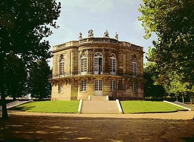 Facade Of The Pavillon De Hanovre Photo Art Print by .
