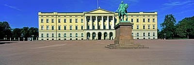 Facade Of The Royal Palace, Oslo, Norway Art Print by Panoramic Images