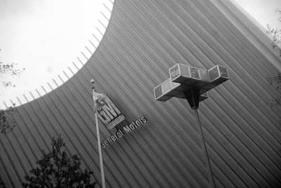 Photograph - Facade G M Futurama by John Schneider
