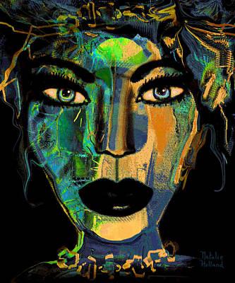 Face 16 Art Print by Natalie Holland