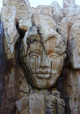 Photograph - Face In The Rock by Laurie Perry