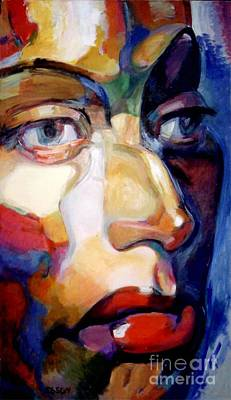 Painting - Face Of A Woman by Stan Esson