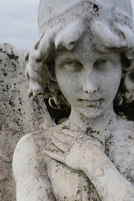 Face Of An Angel Art Print by Brian Jones