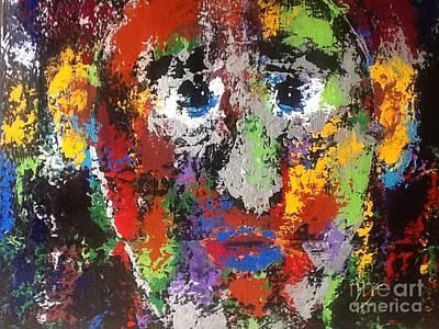 Face Of Anguish Original by Omar Hafidi
