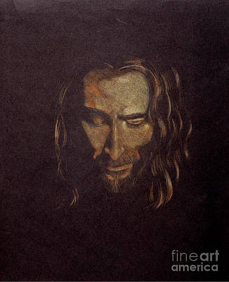 Face Of Jesus Art Print