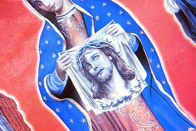 Face Of Jesus San Antonio Texas 2010 Original by John Hanou