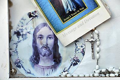 Face Of Jesus Tucson Arizona 2010 Original by John Hanou