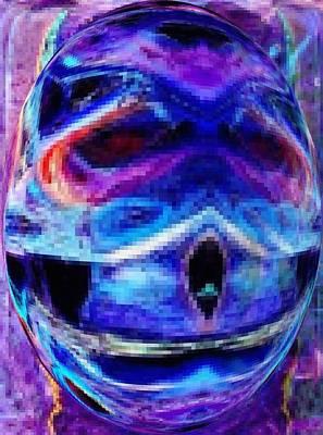 Digital Art - Face Of The Unconscious by Phoenix De Vries