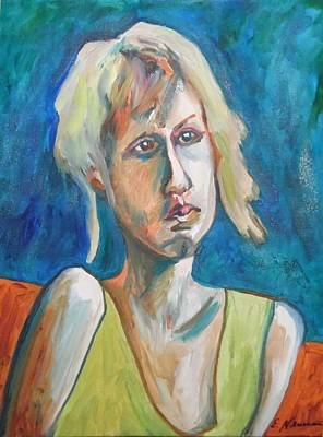 Painting - Face Of Tragedy by Esther Newman-Cohen