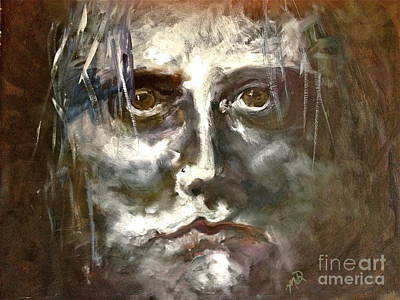 Face Series 1 Art Print by Michelle Dommer