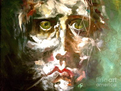 Face Series 2 Art Print by Michelle Dommer