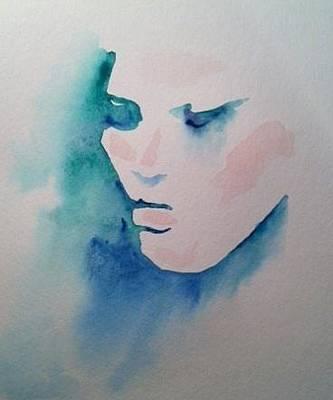 Painting - Face by Stephanie Reid